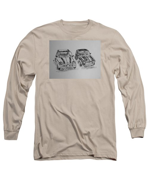 Classic Minis Long Sleeve T-Shirt by Victoria Lakes