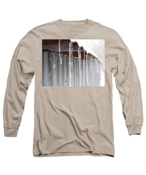 Long Sleeve T-Shirt featuring the photograph Clear As Glass by Tiffany Erdman