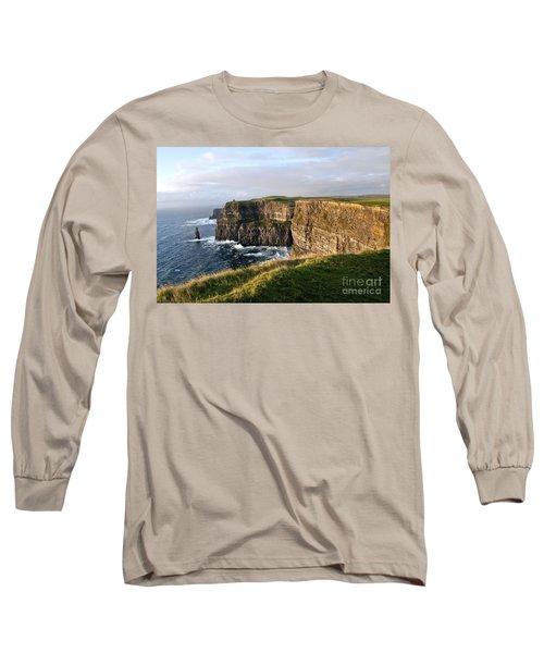 Cliffs Of Moher Evening Light Long Sleeve T-Shirt
