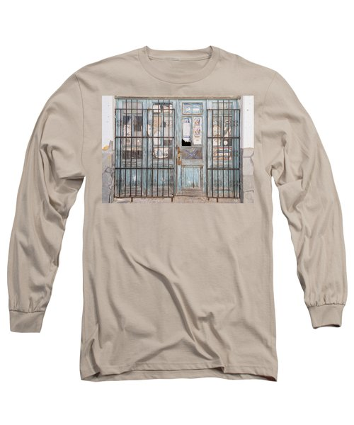 Closed Down Shop Long Sleeve T-Shirt
