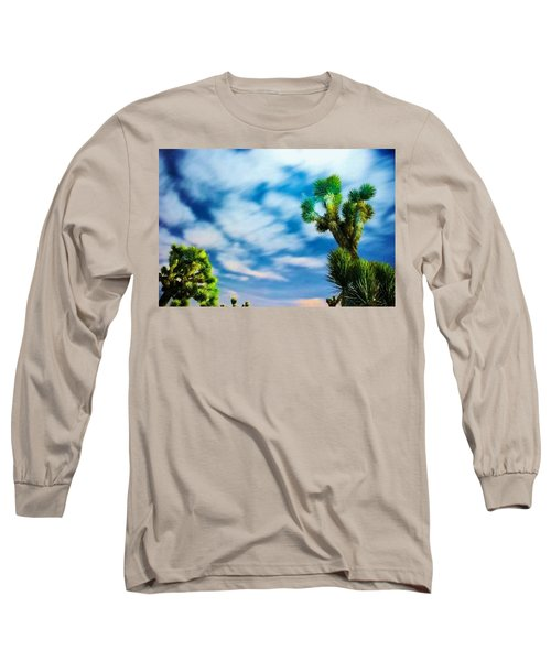 Long Sleeve T-Shirt featuring the photograph Clouds On The Move by Angela J Wright