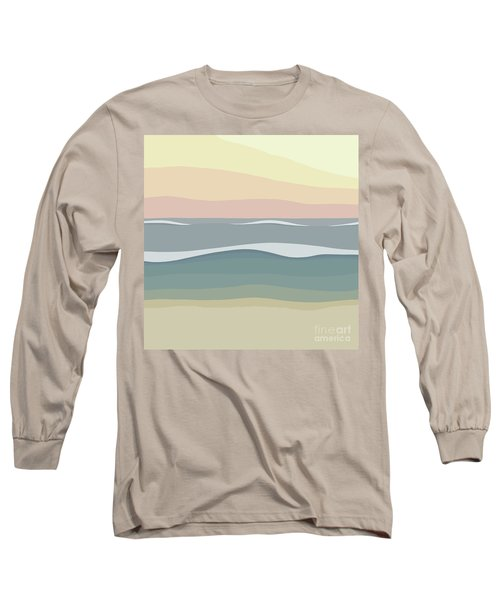 Coast Long Sleeve T-Shirt by Henry Manning