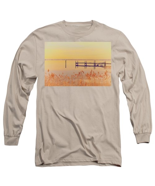 Coastal Winter Long Sleeve T-Shirt by Karol Livote