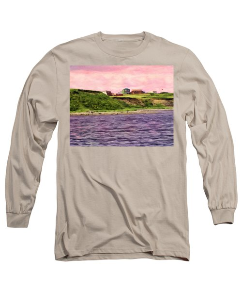 Cold Bay From The Dock Long Sleeve T-Shirt