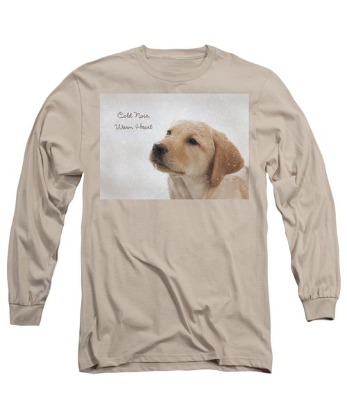 Cold Nose Warm Heart Long Sleeve T-Shirt