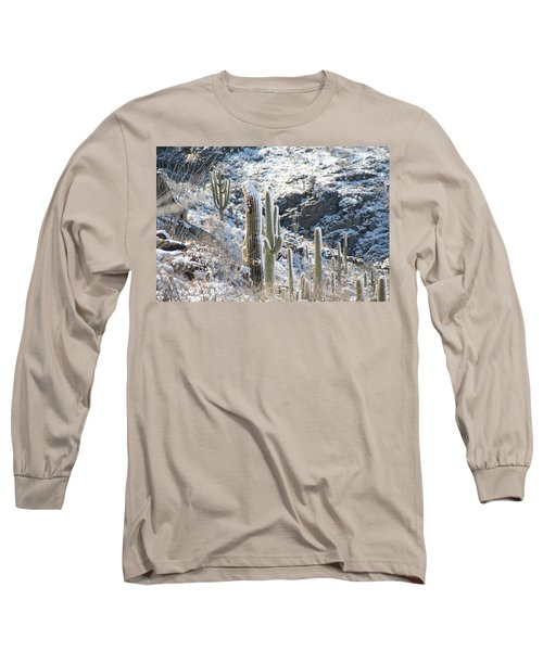 Cold Saguaros Long Sleeve T-Shirt