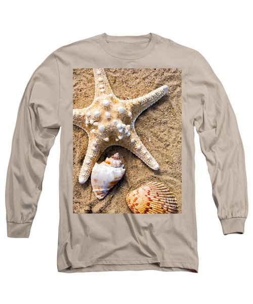 Collecting Shells Long Sleeve T-Shirt