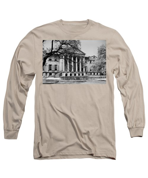 College Of Charleston Main Building 1940 Long Sleeve T-Shirt by Mountain Dreams