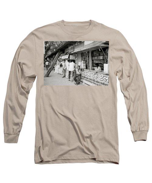 College Street Calcutta  Long Sleeve T-Shirt