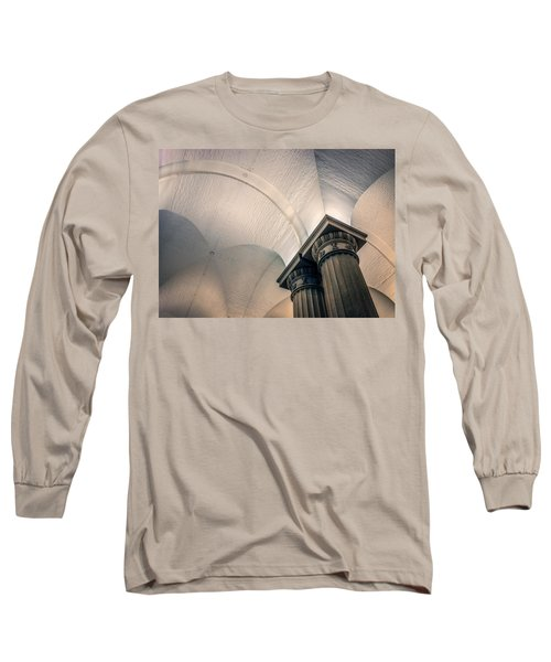 Long Sleeve T-Shirt featuring the photograph Columns by Rob Sellers