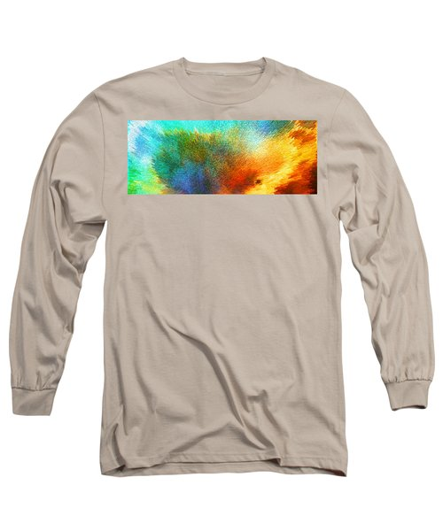 Color Infinity - Abstract Art By Sharon Cummings Long Sleeve T-Shirt