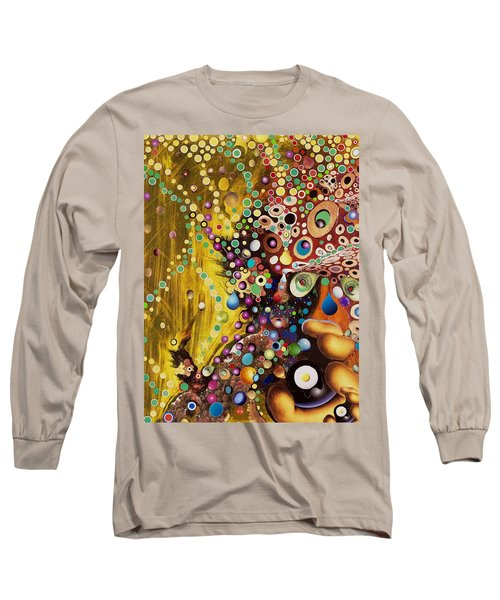 Color Intoxication Remix Long Sleeve T-Shirt by Douglas Fromm