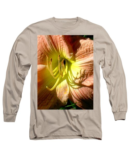 Color Me Just Peachy Long Sleeve T-Shirt