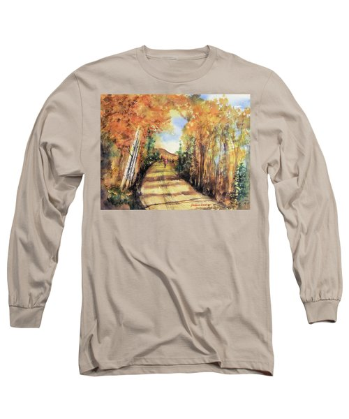 Colorado In September Long Sleeve T-Shirt by Debbie Lewis