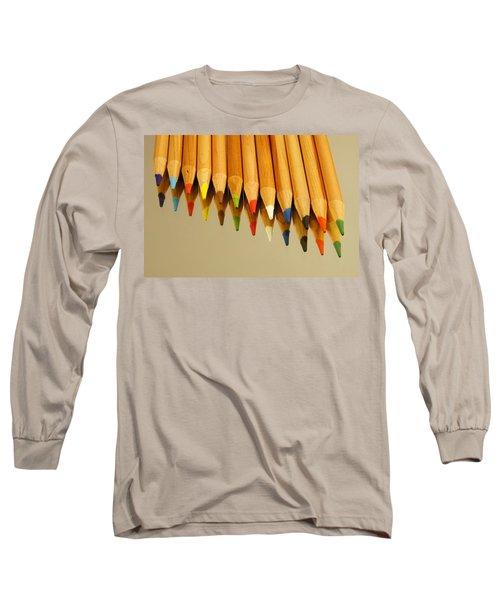 Colored Pencils Long Sleeve T-Shirt