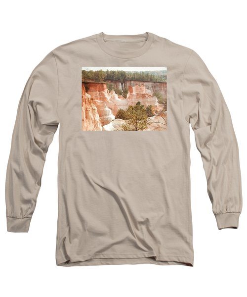 Long Sleeve T-Shirt featuring the photograph Colorful Georgia Canyon Wonder by Belinda Lee