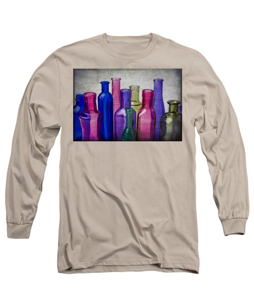 Colorful Group Of Bottles Long Sleeve T-Shirt