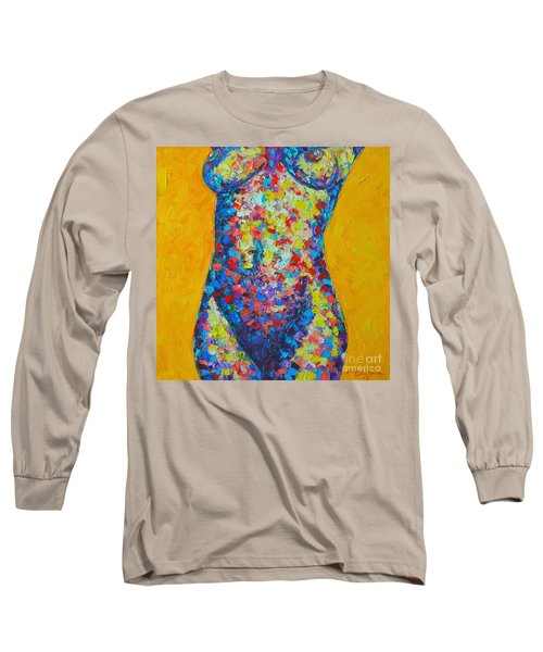 Colorful Nude  Long Sleeve T-Shirt