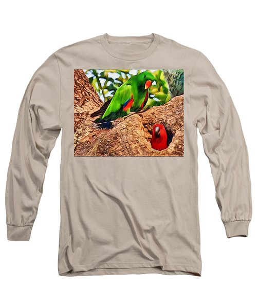 Colorfully Bright Long Sleeve T-Shirt