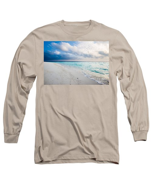 Colors Of Paradise Long Sleeve T-Shirt by Hannes Cmarits