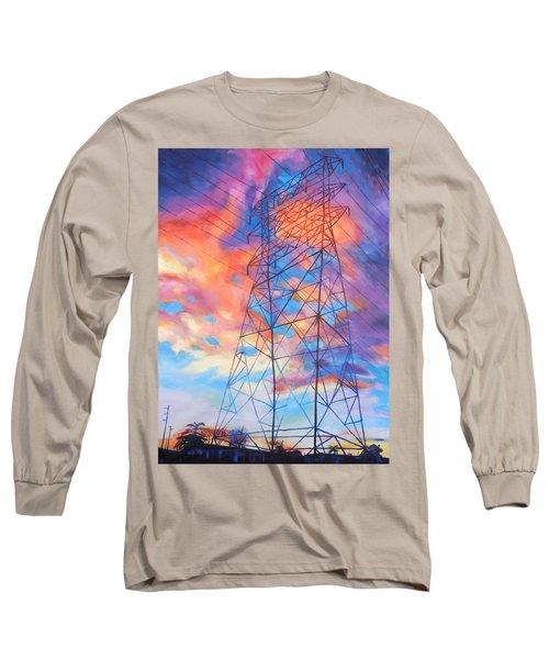 Colossus Long Sleeve T-Shirt by Bonnie Lambert