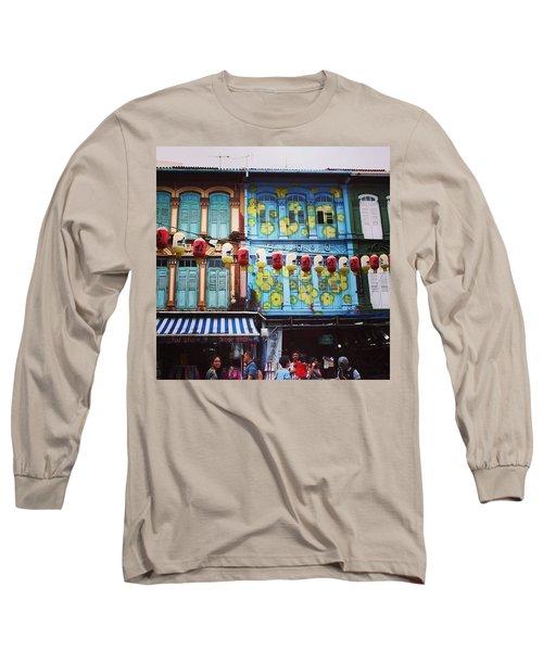 Colourful Singapore Long Sleeve T-Shirt