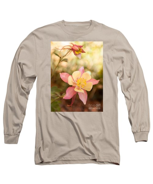 Columbine Long Sleeve T-Shirt by Roselynne Broussard