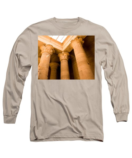 Column Head Art Long Sleeve T-Shirt