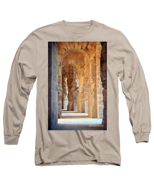 Long Sleeve T-Shirt featuring the photograph Columns by Randi Grace Nilsberg