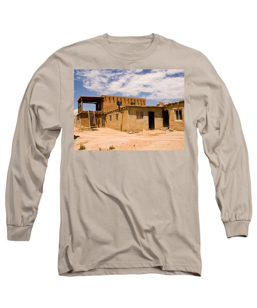 Acoma Pueblo Home Long Sleeve T-Shirt