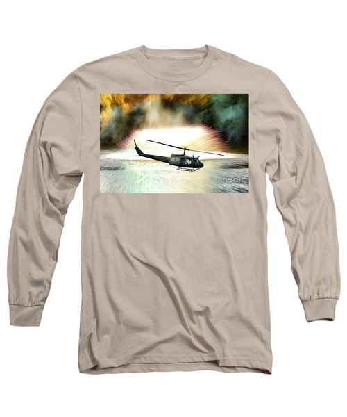 Combat Helicopter Long Sleeve T-Shirt