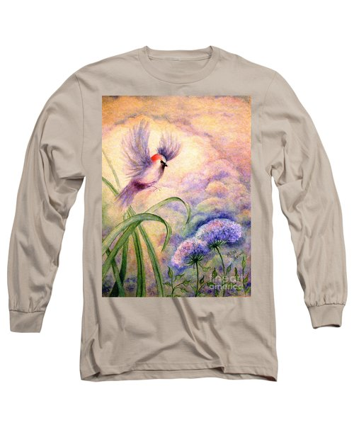 Coming To Rest Long Sleeve T-Shirt by Hazel Holland