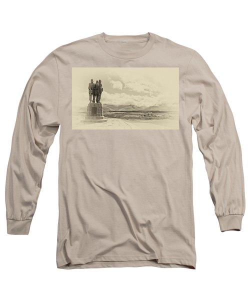 Commando Memorial 3 Long Sleeve T-Shirt
