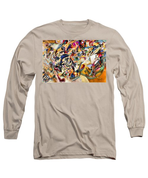 Composition Vii  Long Sleeve T-Shirt