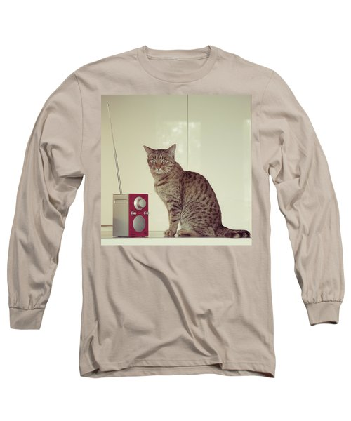 Concentrated Listener Long Sleeve T-Shirt