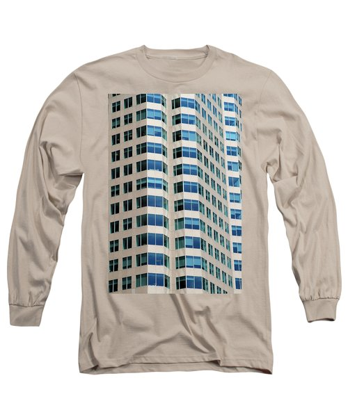 Concrete And Blue Glass Long Sleeve T-Shirt