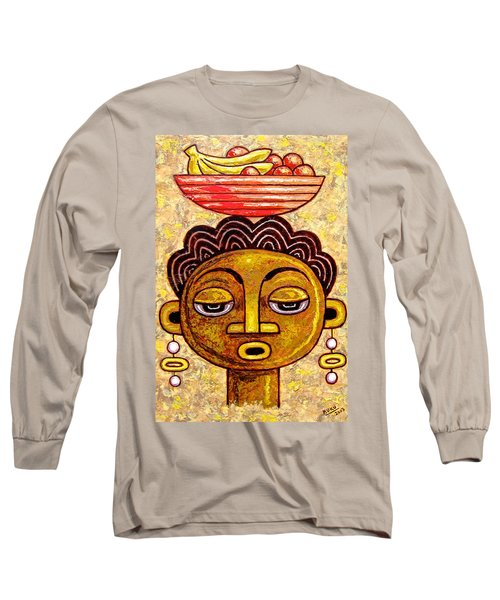 Congalese Face 1 Long Sleeve T-Shirt