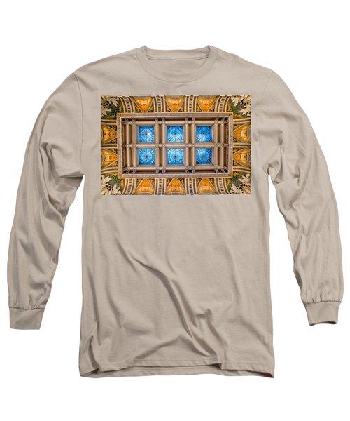 Congress Art Long Sleeve T-Shirt by Greg Fortier