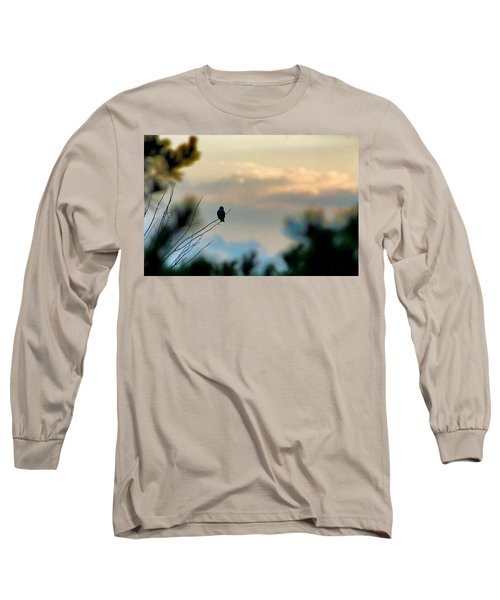 Contemplation Long Sleeve T-Shirt by Bruce Patrick Smith
