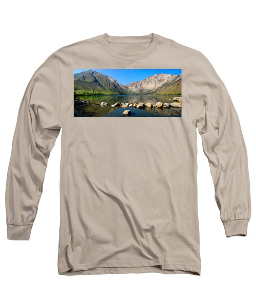 Convict Lake Panorama Long Sleeve T-Shirt