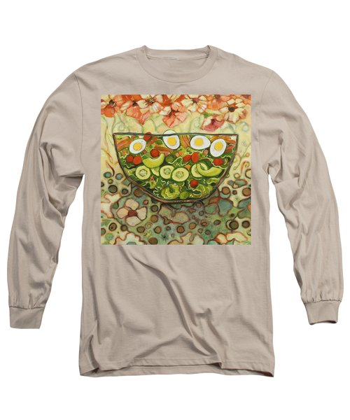 Cool Summer Salad Long Sleeve T-Shirt