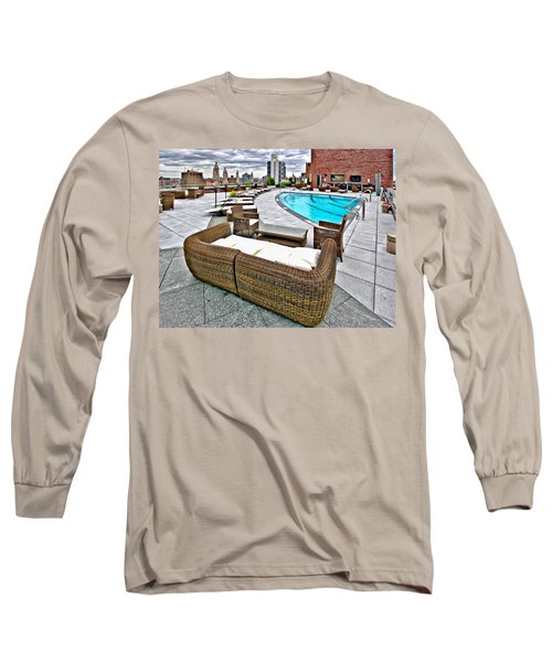 Cooper Roof Long Sleeve T-Shirt by Steve Sahm