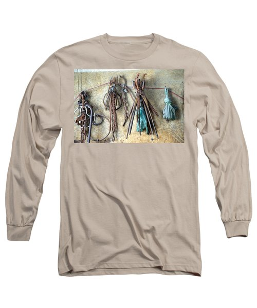 Coppersmith Tools Long Sleeve T-Shirt by Debi Demetrion