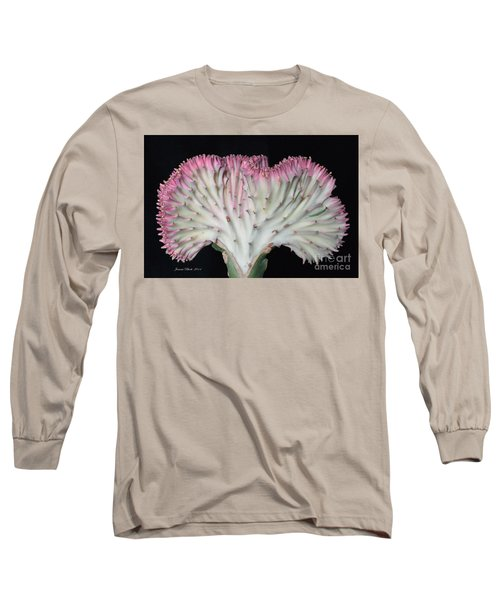 Coral Cactus Long Sleeve T-Shirt