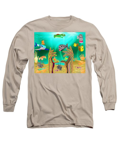 Coral Hands Long Sleeve T-Shirt