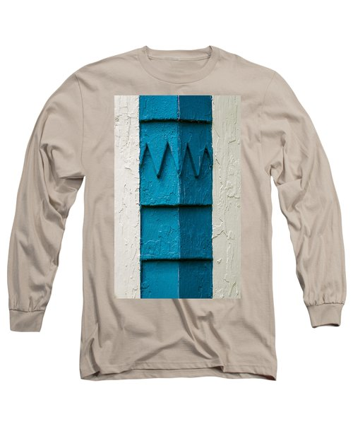 Corner Detail Long Sleeve T-Shirt