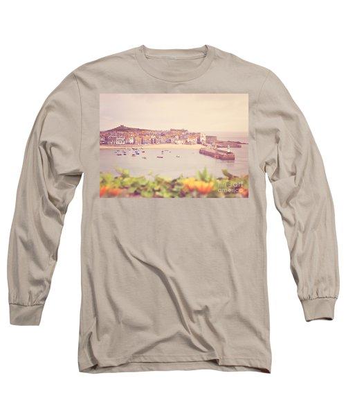Cornish Harbour Long Sleeve T-Shirt