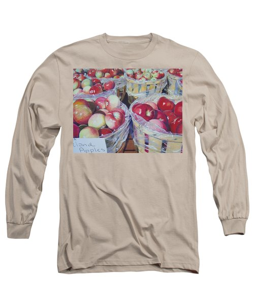 Cortland Apples Long Sleeve T-Shirt