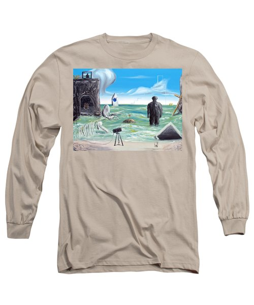 Cosmic Broadcast -last Transmission- Long Sleeve T-Shirt