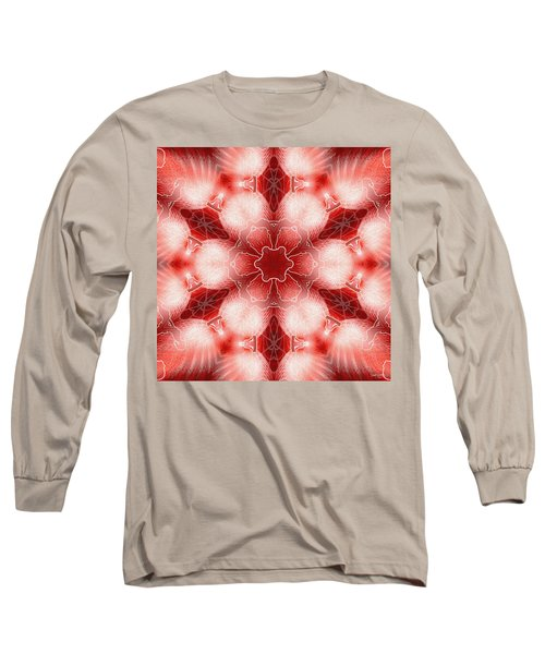 Cosmic Spiral Kaleidoscope 22 Long Sleeve T-Shirt